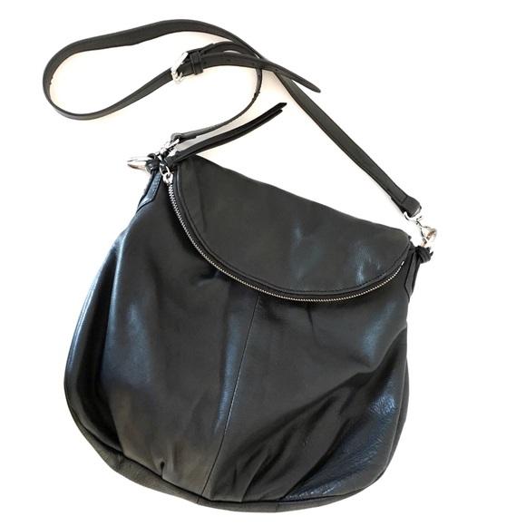 1180beaf79 Anthropologie Handbags - Margot (Anthro) Zip Flap Leather Crossbody Bag